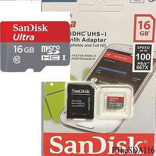 Thẻ nhớ Sandick Micro Dung Lượng 4gb 8gb 16gb 32gb 64gb - Tốc độ đọc 80MB s thumbnail