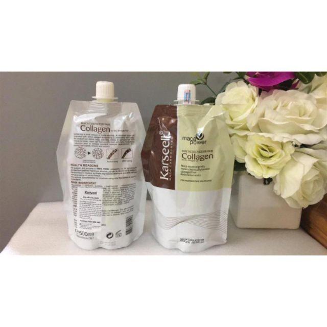 Hấp ủ tóc collagen karseell 500ml ( cam kết hàng loại 1, dùng thích)