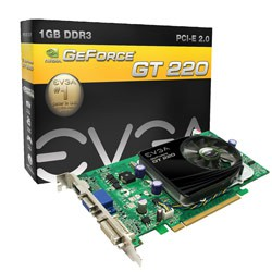 Card màn hình EVGA GeForce GT 220 (01G-P3-1226-LR)