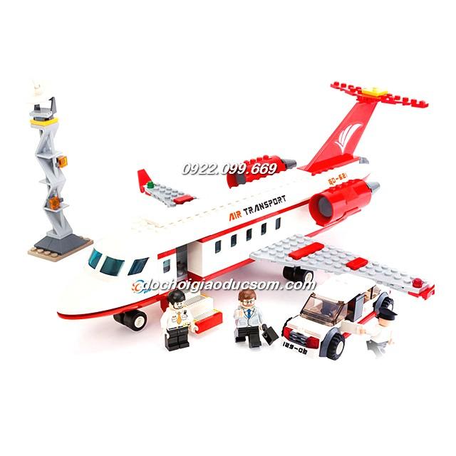 Bộ lego máy bay và phi trường - Airport - Cỡ lớn 856 pcs