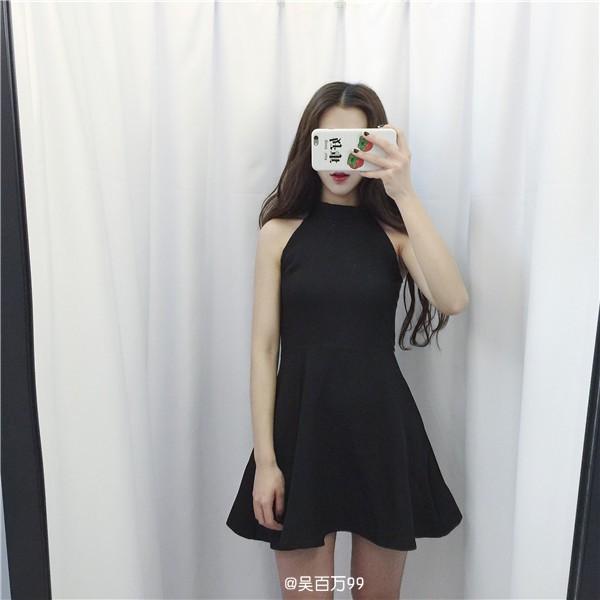 Đầm Ulzzang Paris dress - Hàng thiết kế