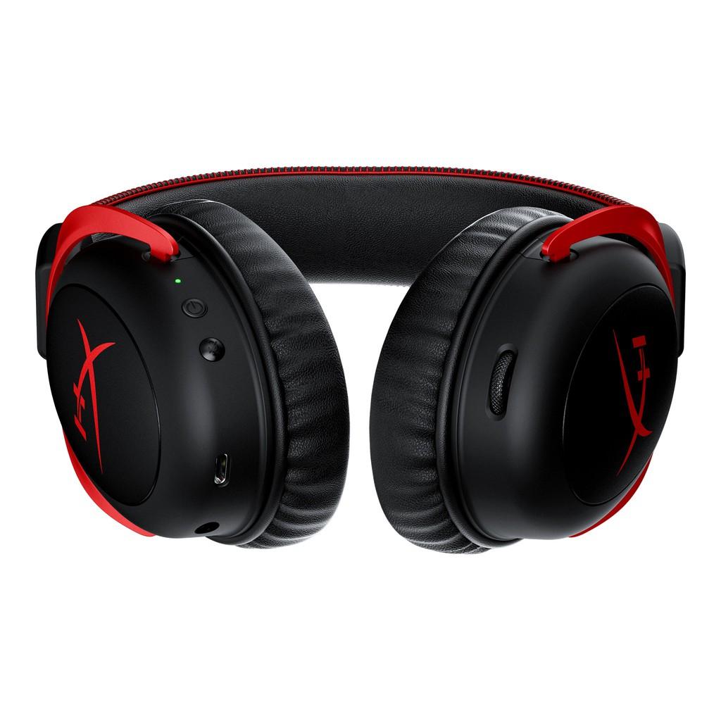 Tai nghe Kingston HyperX Cloud 2 Wireless 7.1 chuyên game Màng loa 53mm Mic  khử ồn - Tai nghe Bluetooth chụp tai Over-ear