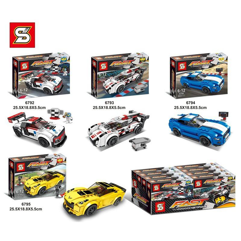 LEGO Xe Đua Siêu Hạng - 200 Chi Tiết