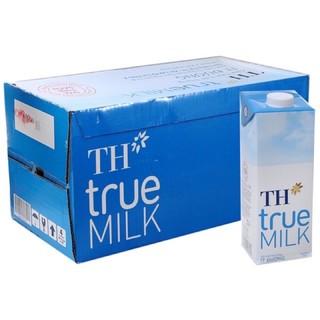 Thùng 12 Hộp x 1L Sữa Tươi Tiệt Trùng TH True Milk
