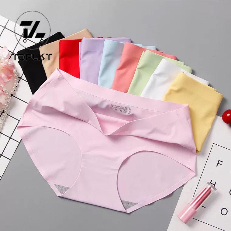 ใหม่ สั่งทำพิเศษ พร้อมส่ง  TOPLIST กางเกงในไร้ขอบ นุ่มลื่น เนื้อผ้าอย่างดี (TL-N068)