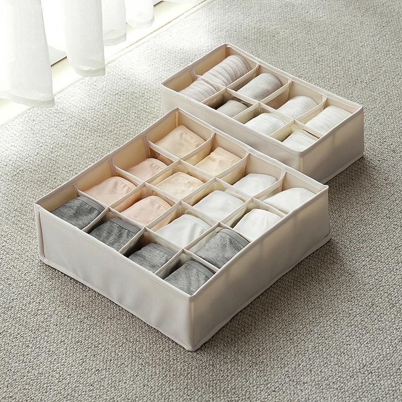 hộp vải đựng đồ lót