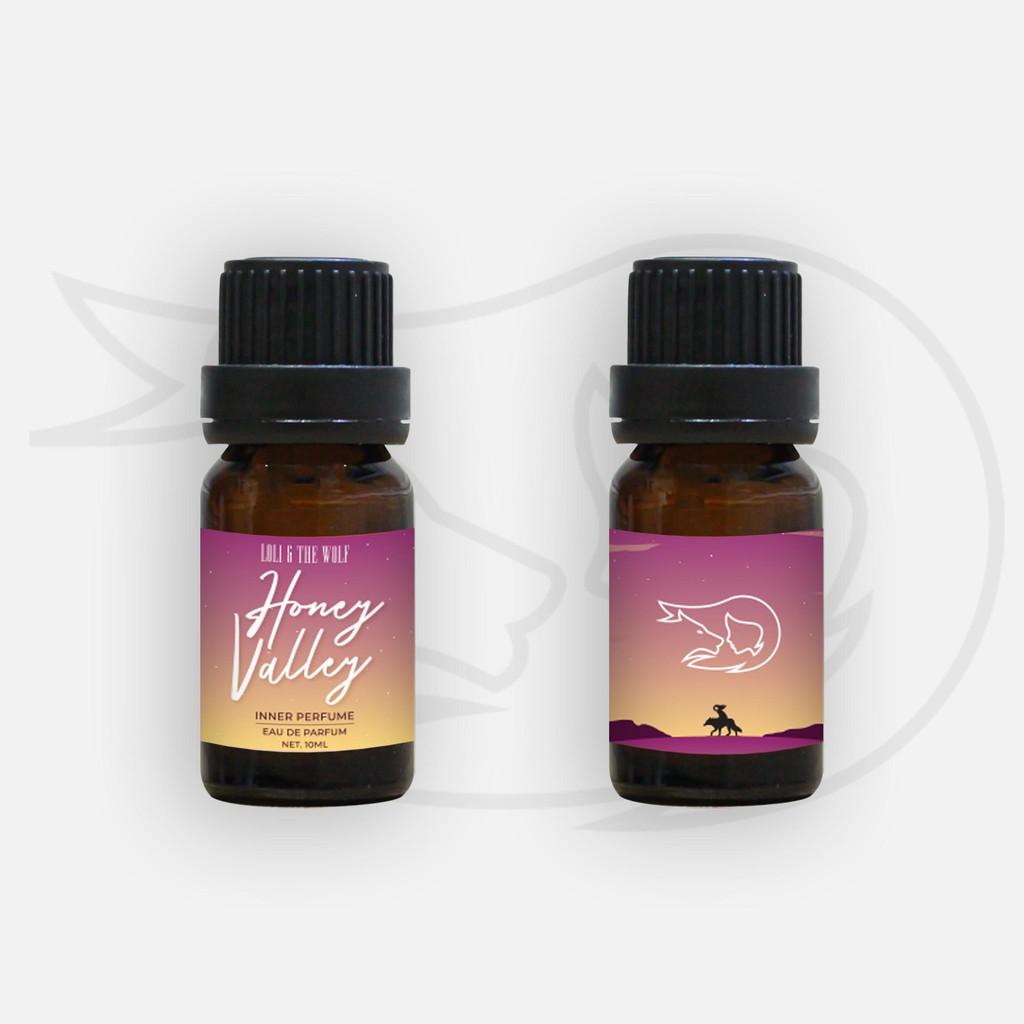 Nước hoa vùng kín nữ chính hãng Honey Valley Eau De Parfum chai 10ml thơm lâu - LOLI & THE WOLF