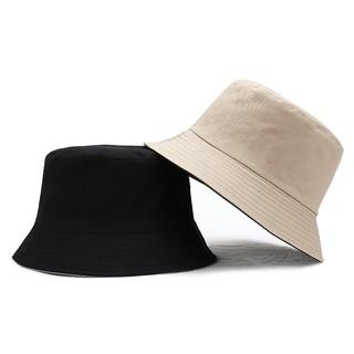 Mũ Tai Bèo LINJW Màu Trơn Thời Trang Mùa Hè Dành Cho Cả Nam Và Nữ