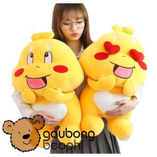 Gấu bông Qoobee đáng yêu, quà tặng đặc biệt cho mọi lứa tuổi size 70cm ( Giao mẫu ngẫu nhiên )