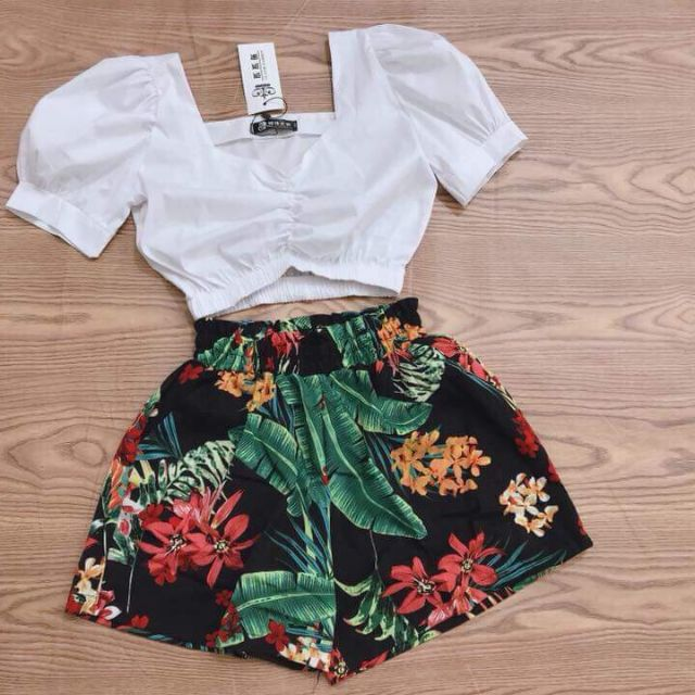 Set áo quần hoa_H&