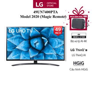 [Mã ELLGJAN giảm 3% đơn 250K] Smart Tivi LG 49 Inch UHD 4K 49UN7400PTA - Model 2020 - Miễn phí lắp đặt thumbnail