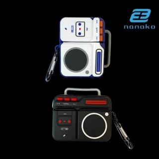 CREATIVE Vỏ Đựng Bảo Vệ Hộp Sạc Tai Nghe Airpods 1 / 2 Ipods 3 Pro Bằng Silicone