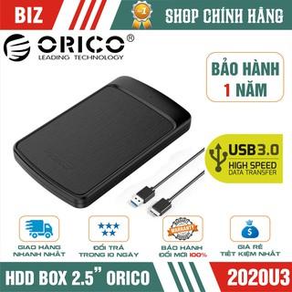 "HDD BOX 2.5"" Orico 2020U3 Sata III USB 3.0 – Bảo hành 12 tháng !!!"