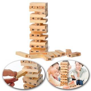 Bộ đồ chơi rút gỗ 54 thanh thư giãn giải trí