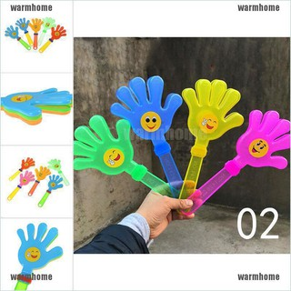 warmhome 1piece Hand Clapper Plastic Kids Toy Party Favours Flapper Cheering Toys thro