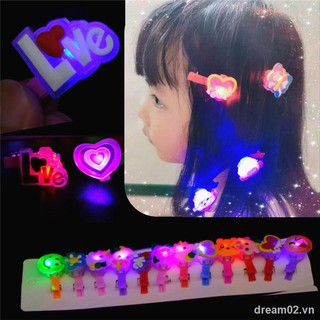 Children's toysLarge quantity available for night market girl creative children s luminous small toy hairpin flashing light stall headgear