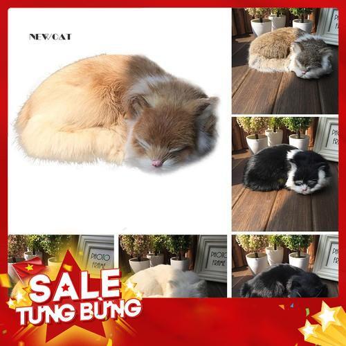 Mô hình con mèo đáng yêu dùng để trang trí nội thất / ô tô – Siêu HOT