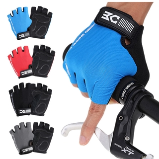 Lycra fabric cycling gloves bicycle half-finger gloves short finger mountain bike gloves BC-204