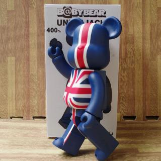 High Quality The Union Jack Flag Style Creative Bearbrick Action Figure