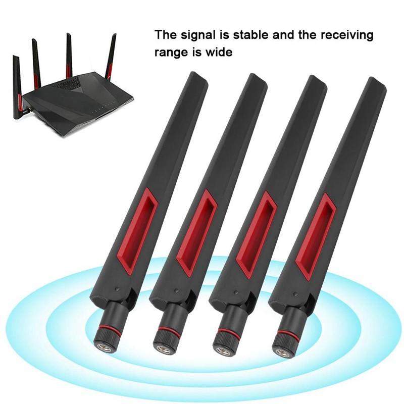 Bộ 4 Ăng Ten Wifi 2.4g / 5g Sma