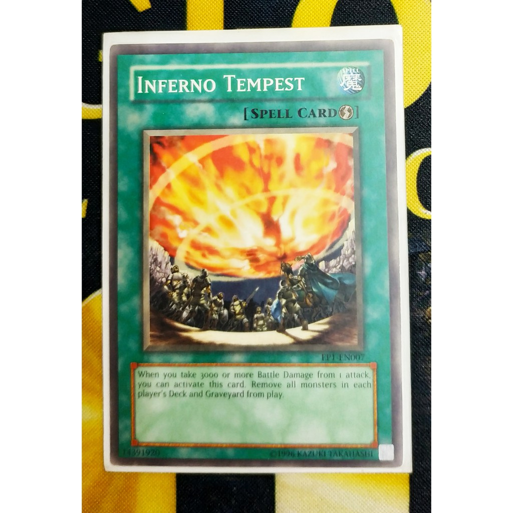 [Thẻ Yugioh] Inferno Tempest