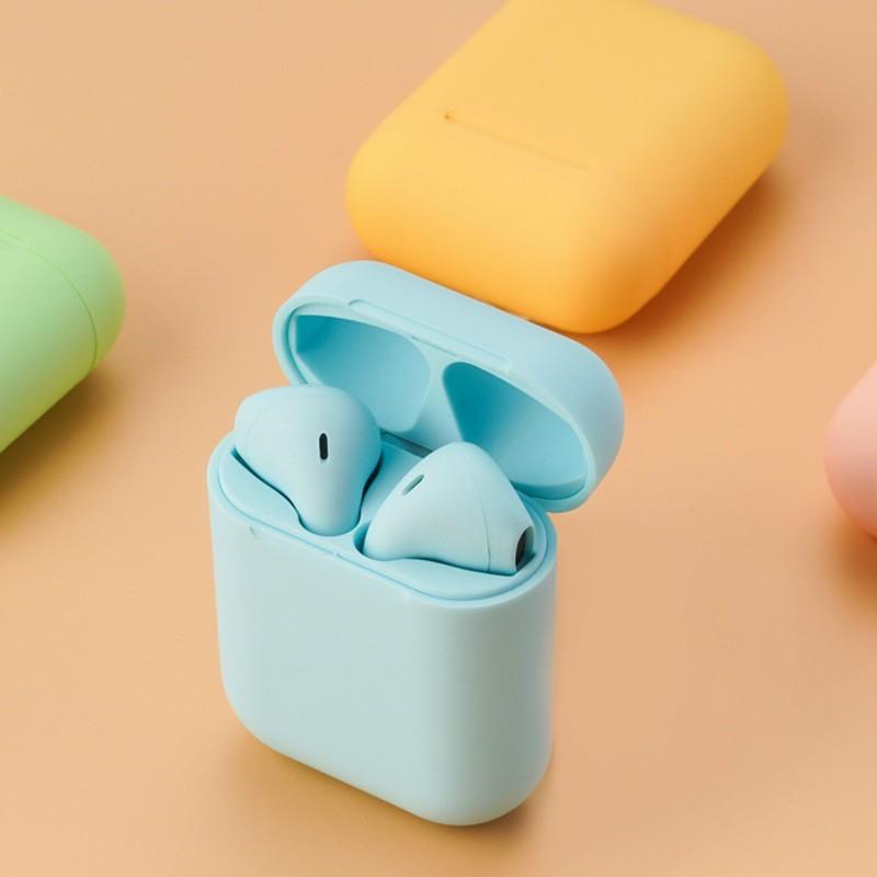 Tai Nghe Bluetooth Nhét Tai Tai Nghe inPods i12 TWS Bluetooth 5.0 Giành Cho iPhone và Androi - Bảo Hành 6 Tháng