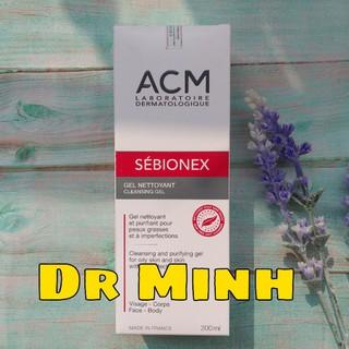 Acm- Sebionex cleansing gel 200ml sữa rửa mặt dành cho da mụn, da nhờn thumbnail