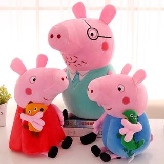 đồ chơi nhồi bông Hình Chú Heo Peppa Đáng Yêu thumbnail