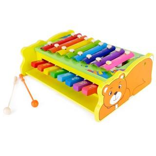 Đàn Gõ Piano 2 Tầng – Đồ Chơi Gỗ Thông Minh
