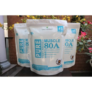 💥 COMBO 3KG (3 túi) sữa bột WHEY PROTEIN LACTOPROT MUSCLE-80A tập thể hình, tập GYM, tập thể thao – WHEY CONCENTRATE