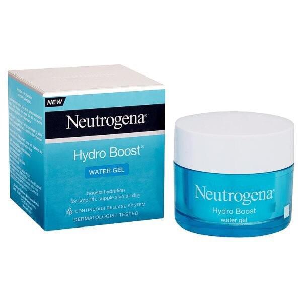 [Mã COSFS5 giảm 10% đơn 150K] Kem dưỡng da Neutrogena water gel và gel cream cho da dầu và da khô Bill Anh 50mlgel cream