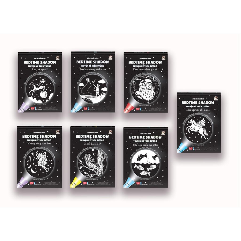 Sách - bộ 7 cuốn Sách Chiếu Bóng - Bedtime Shadow - Truyện Kể Trên Tường