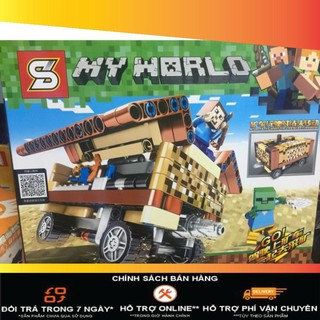 [Giá-sỉ] Lego my world minecraft phiên bản mới