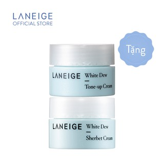 [HB GIFT] Combo dưỡng trắng da Laneige White Dew Tone-up Cream 10ml & Sherbet Cream 10ml thumbnail