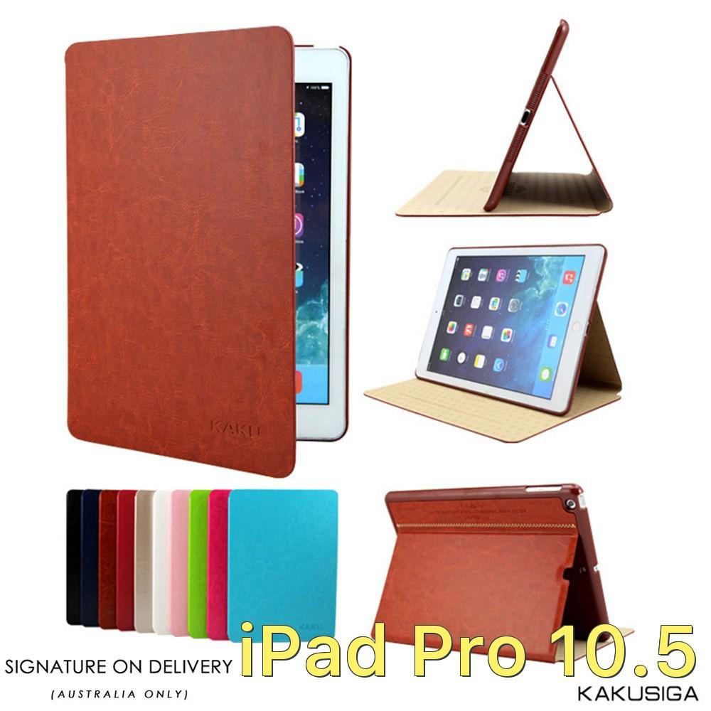 Bao da Kakusiga 2 mặt da cho iPad Pro 10.5