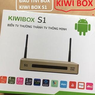 Androi Tivi Box KIWlI Model S1 - Tivi BOX KIWlI S1.