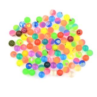 10pcs 25mm Bouncy Ball High quality child elastic rubber ball Kid of pinball