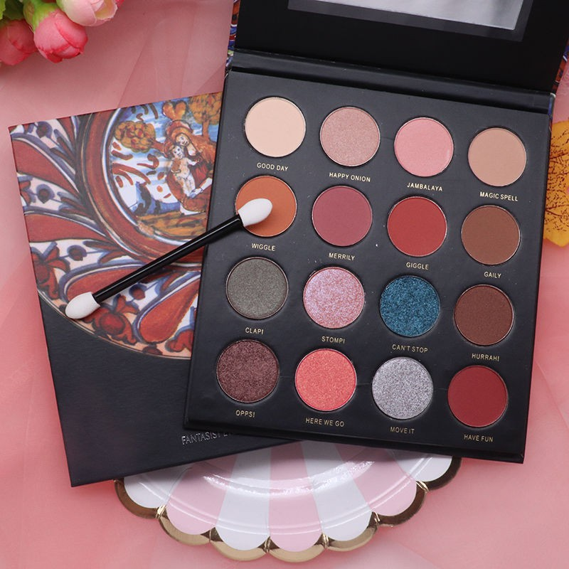 ✖✽CoolBarbie British museum visionary 16 color eye shadow plate of desert rose mashed potatoes