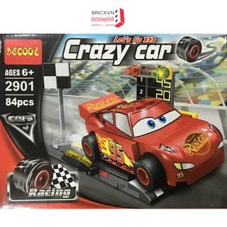 Bộ xếp hình Vương Quốc xe hơi – Lightning McQueen