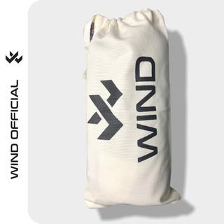 [Mã SKAMCLU7 giảm 10% tối đa 50K đơn 0Đ] Túi đựng bình nước Wind vải canvas in chữ Wind dây rút vải bố thumbnail