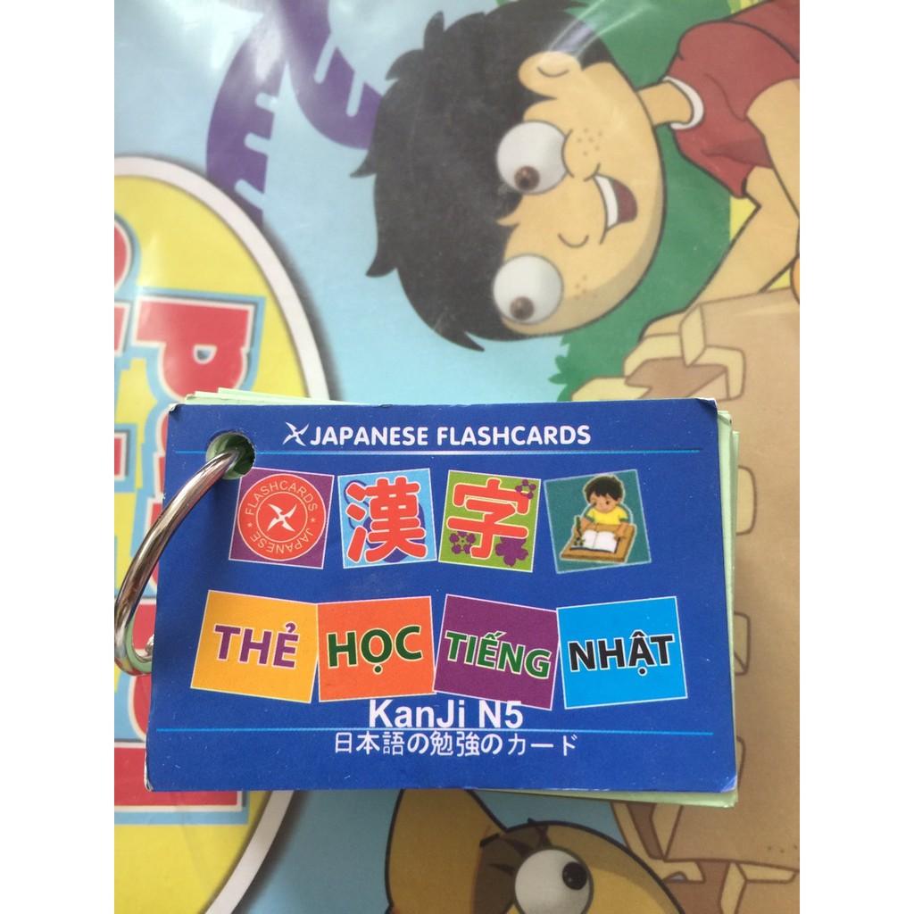 Thẻ học tiếng Nhật Kanji N5