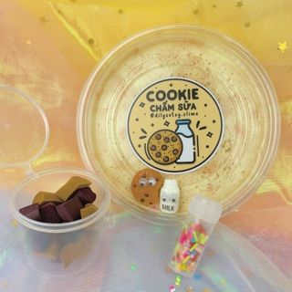 (Dilysetsyslime)Cookie Chấm Sữa – 250ml – Snowfizz
