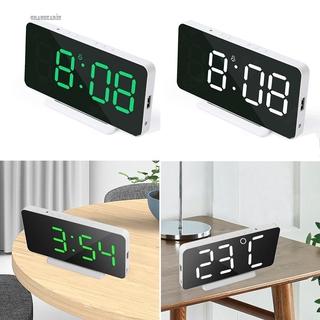 LED Alarm Clock Poratable LED Display Temperature Electronic Backlight