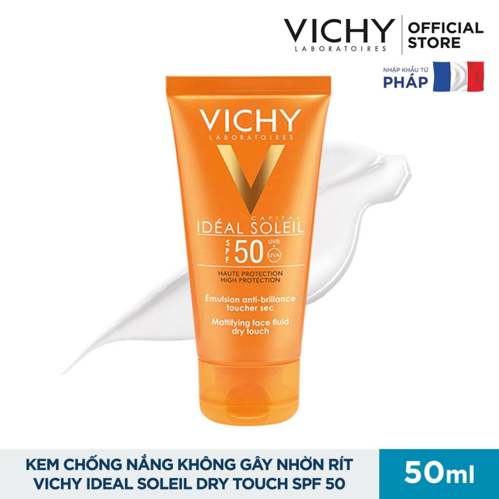 Kem Chống Nắng Vichy SPF 50 Ideal Soleil 50ml