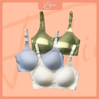 Áo ngực cho con bú (A4) chất sợi tằm cao cấp co giãn 4 chiều, siêu thấm hút sản phẩm của LAMME