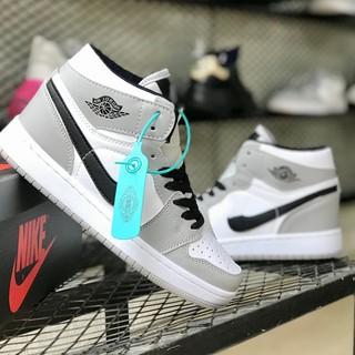 Ảnh thật của giày bóng rổ jordan1 Highr full box bill thumbnail