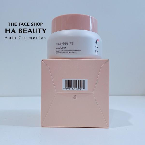 [The Face Shop AUTH] Kem tẩy trang dịu nhẹ Chống lão hóa YEHWADAM Cleansing Cream 200ml TFSN20