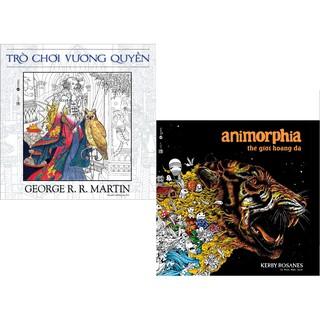 Sách - Combo sách tô màu Animorphia và Trò chơi vương quyền thumbnail