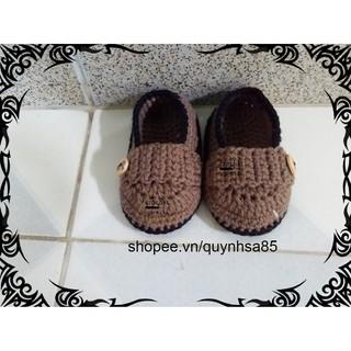 Giày len cho bé M233 – baby shoes /sandals crochet