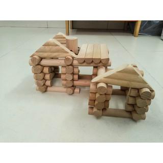 99% Đồ chơi Bộ gỗ xây dựng (CHÂU ÂU)